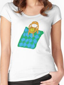Courtney Barnett 'Sometimes' Album (image only) Women's Fitted Scoop T-Shirt