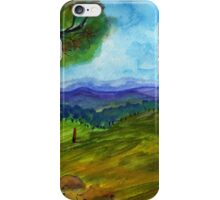 To paint a landscape  iPhone Case/Skin