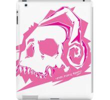 Bone Beats Pink iPad Case/Skin