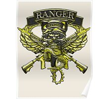 US Army Ranger Placard Poster