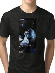 Black Panther Art - After Midnight Tri-blend T-Shirt
