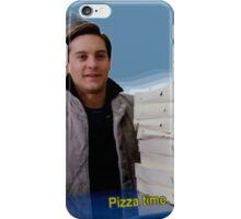 Pizza time! iPhone Case/Skin