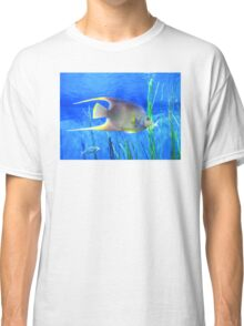 Into Blue - Tropical Fish by Sharon Cummings Classic T-Shirt
