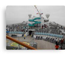 Conquest Ship Canvas Print