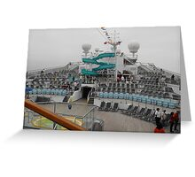 Conquest Ship Greeting Card