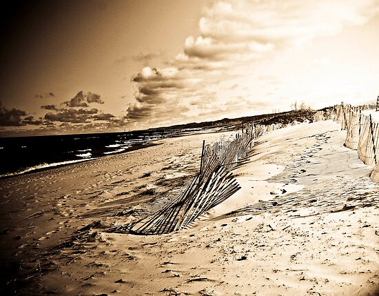 Old Lake Michigan by redhairedgirl