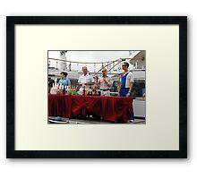 Mixology Contest Framed Print