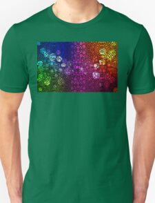 Stone Rock'd Rainbow - Art By Sharon Cummings Unisex T-Shirt