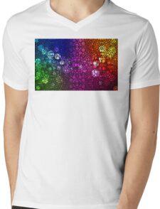 Stone Rock'd Rainbow - Art By Sharon Cummings Mens V-Neck T-Shirt