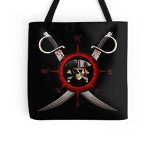 Pirate Compass Tote Bag
