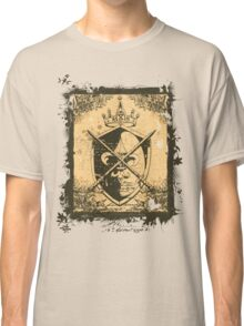 Heraldry Crown, Swords and Shield Classic T-Shirt