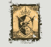 Heraldry Crown, Swords and Shield Unisex T-Shirt