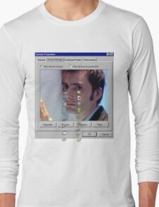 David crying Long Sleeve T-Shirt