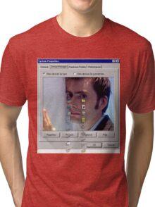 David crying Tri-blend T-Shirt