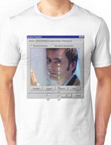 David crying Unisex T-Shirt