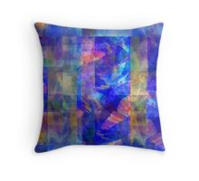 Abstract Composition #1  – April 20, 2010  Throw Pillow