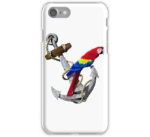 Parrot And Ship Anchor iPhone Case/Skin