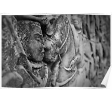 Angkor Murals 4 Poster