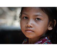 Angkor Thom girl 2 Photographic Print