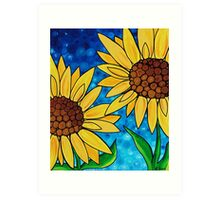 Yellow Sunflowers Art Print