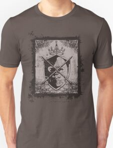 Heraldic Crown, Swords and Shield - Heraldry T-Shirt