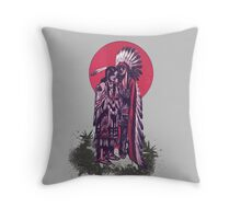 American Indians Throw Pillow