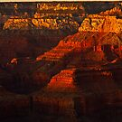 Last Light at the Grand Canyon by Zane Paxton