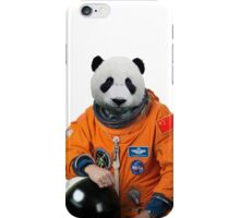 Funny panda astronaut iPhone Case/Skin