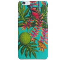 Apapane I'iwi Hanging Out In The Lobster Claw iPhone Case/Skin