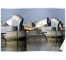 Thames Barrier 2 Poster