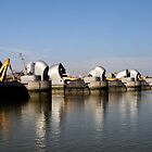 Thames Barrier 7 by rhallam
