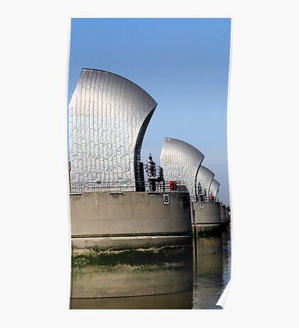 Thames Barrier 10 Poster