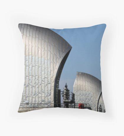 Thames Barrier 11 Throw Pillow