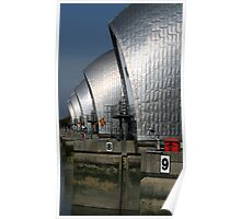 Thames Barrier 13 Poster