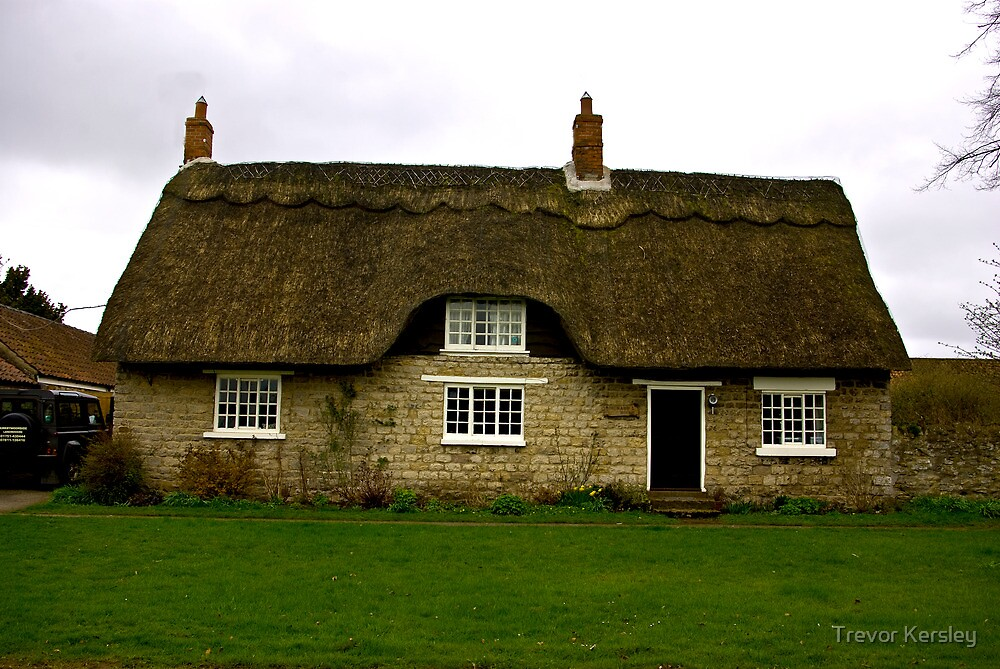 Thatched Cottage - Harome by Trevor Kersley