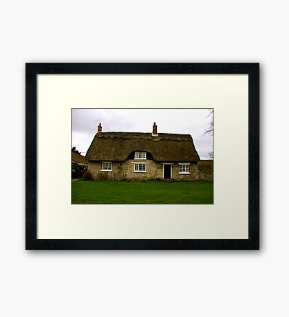 Thatched Cottage - Harome Framed Print