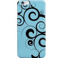 Swirly Moon iPhone Case/Skin