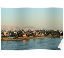 West Bank of the River Nile Poster