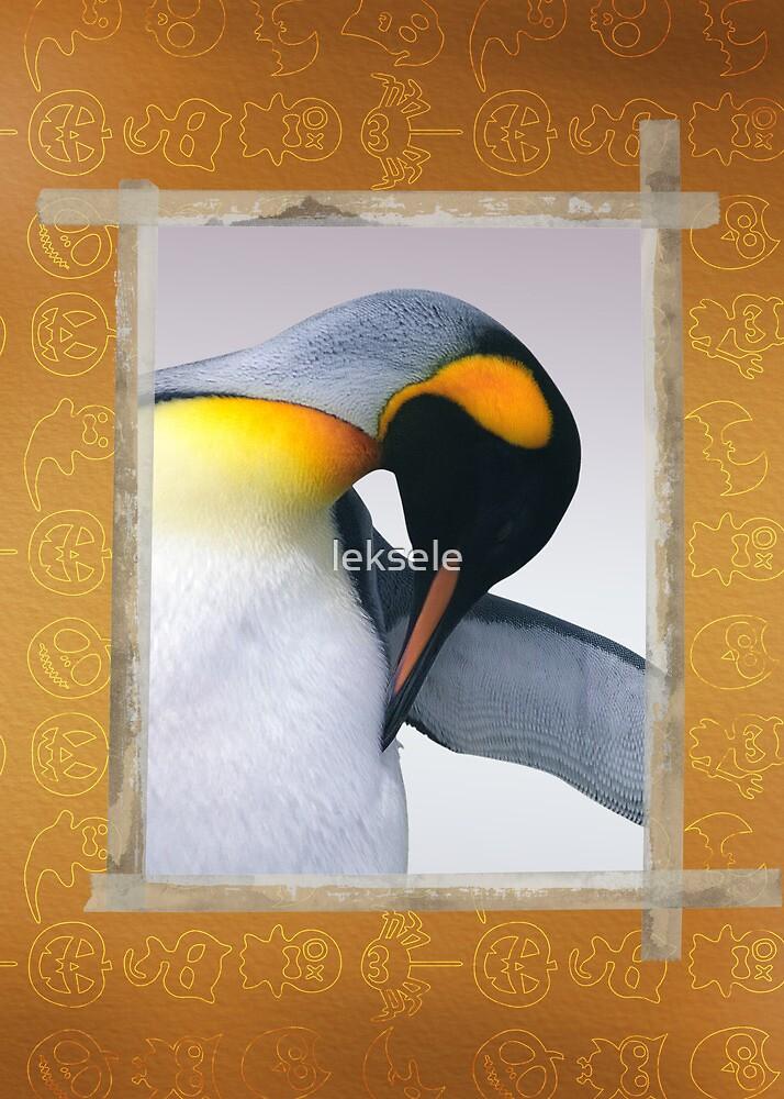 Emperor penguin  by leksele