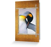 Emperor penguin  Greeting Card