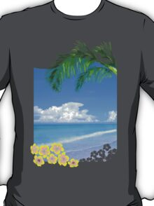 Beach And Palm Trees T-Shirt