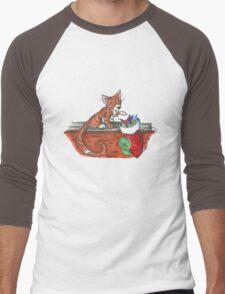 Catnip Christmas Men's Baseball ¾ T-Shirt