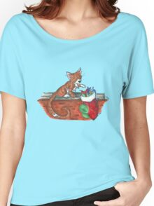 Catnip Christmas Women's Relaxed Fit T-Shirt