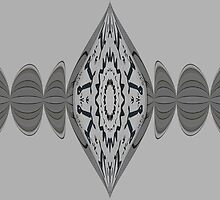 Black and grey pattern treble pinched by rhallam