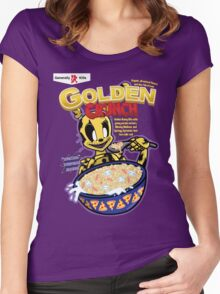 Taste That Golden Crunch! Women's Fitted Scoop T-Shirt