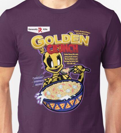 Taste That Golden Crunch! Unisex T-Shirt