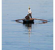 Nile fisherman 3 Photographic Print
