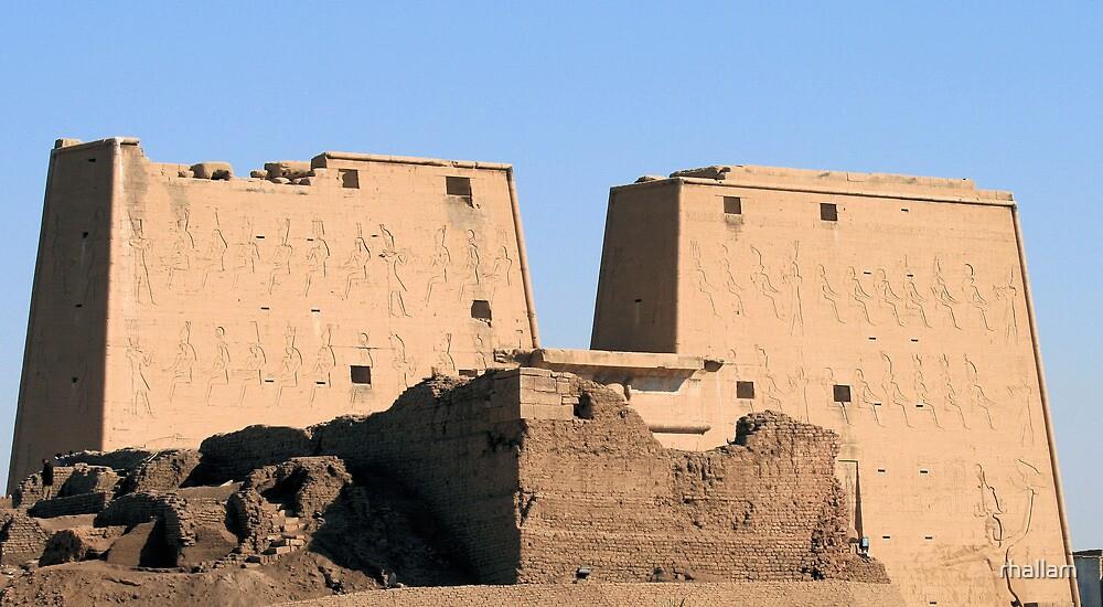 Edfu Temple 2 by rhallam