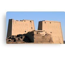 Edfu Temple 2 Canvas Print