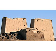 Edfu Temple 2 Photographic Print